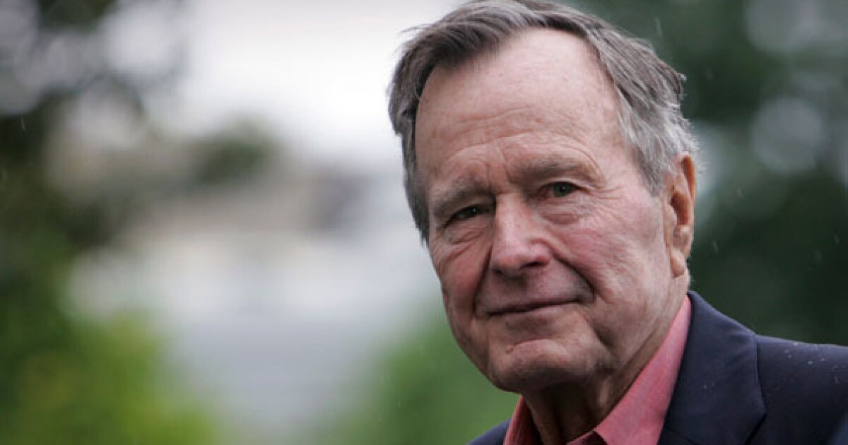George H.W. Bush's legacy should last long after his burial