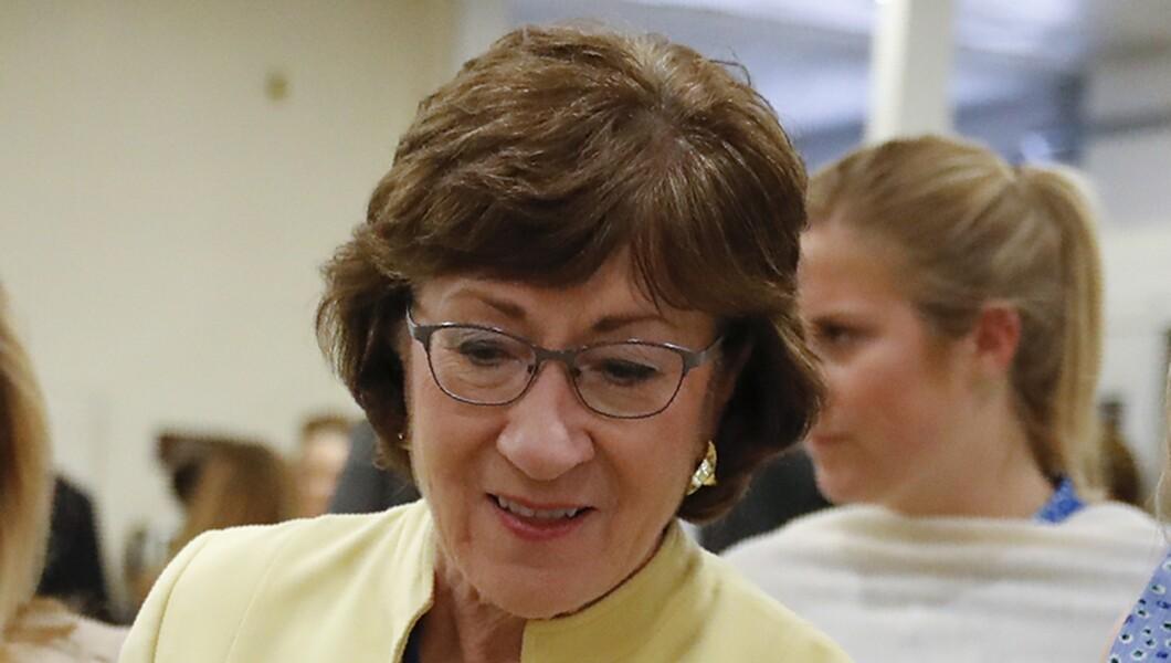 Sen. Susan Collins, R-Maine, is seen.