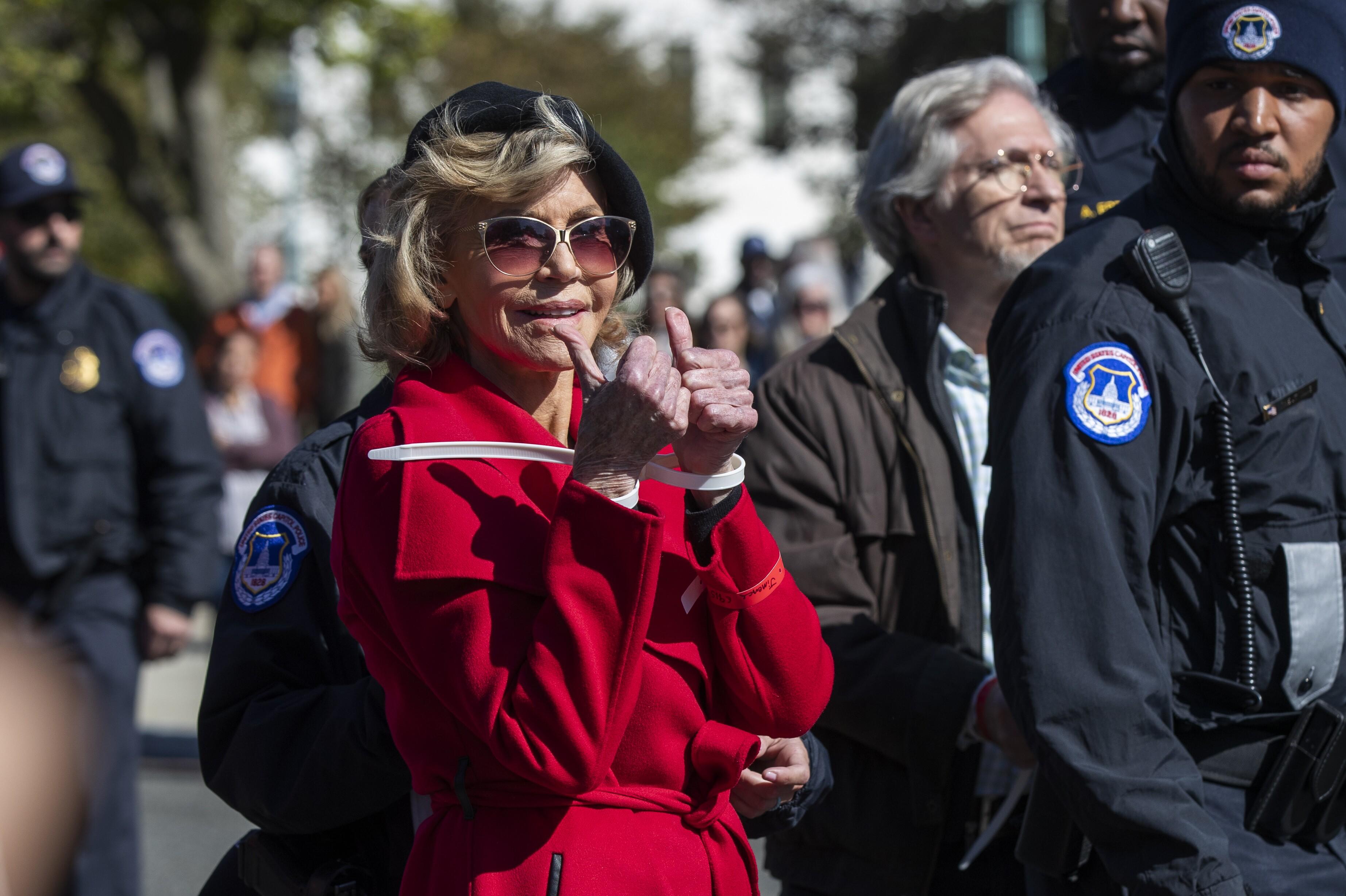 Liberal Media Scream: Jane Fonda wants 'Nuremberg trials' for energy executives