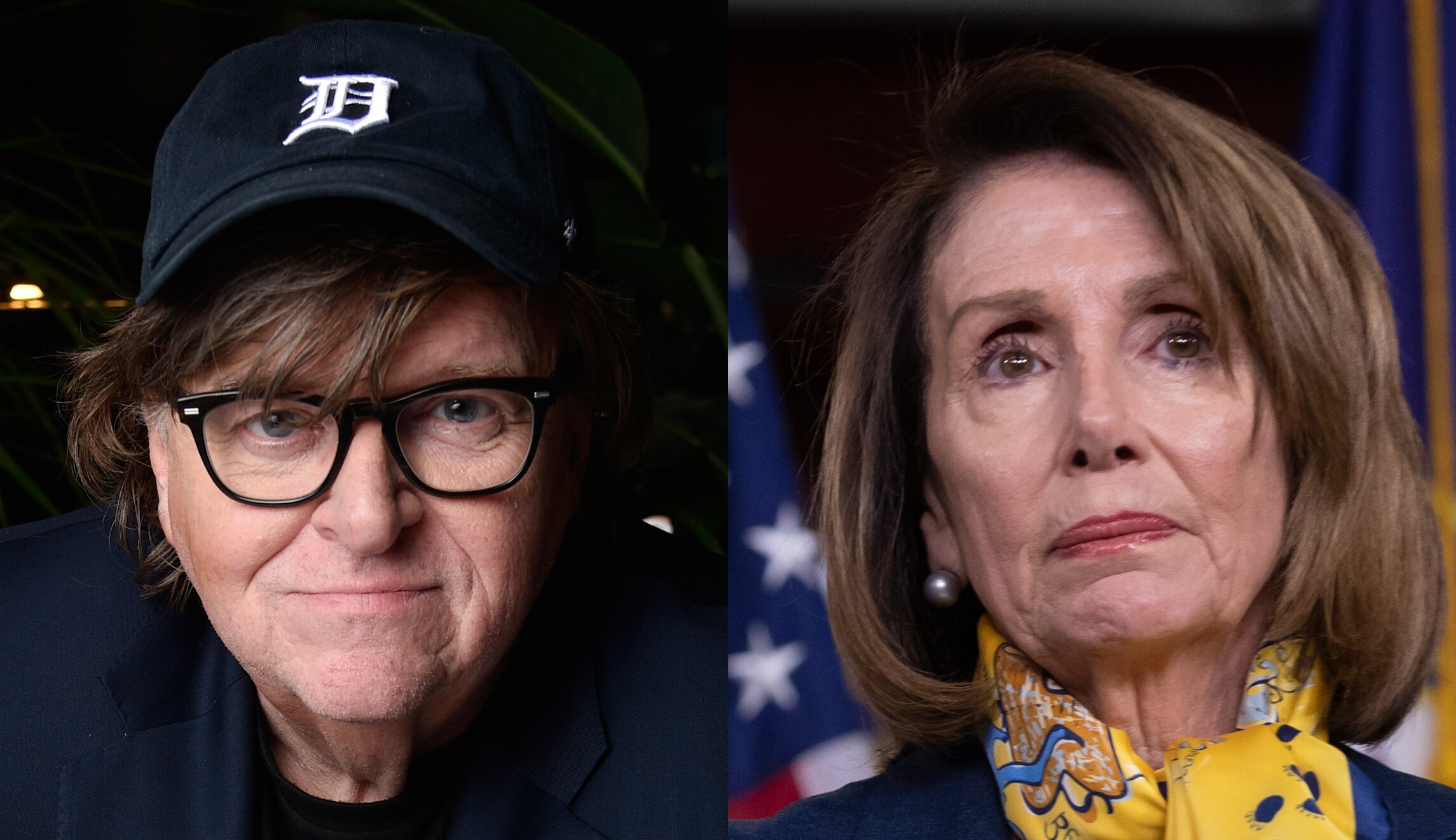 Michael Moore trashes Pelosi as 'old, tired, privileged'
