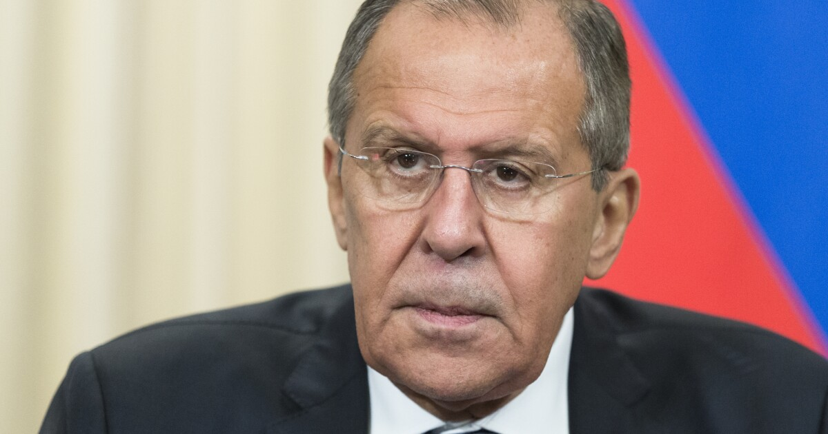 Please know that Russian Foreign Minister Sergey Lavrov is unhappy