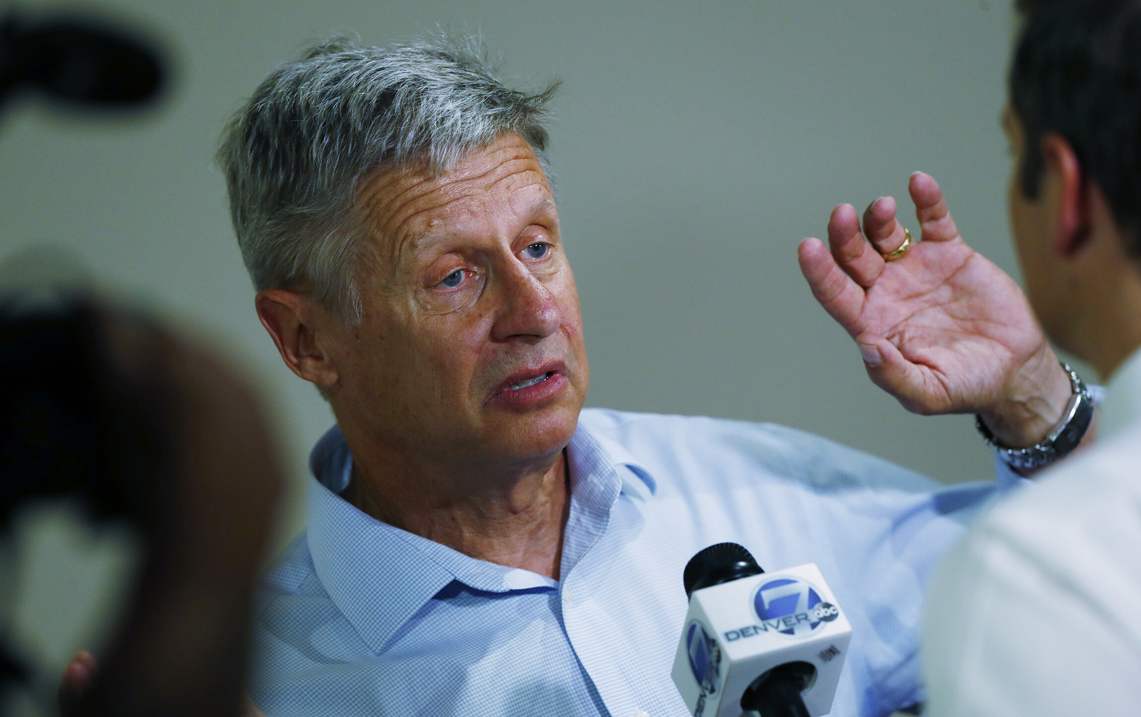 did gary johnson just have another aleppo moment