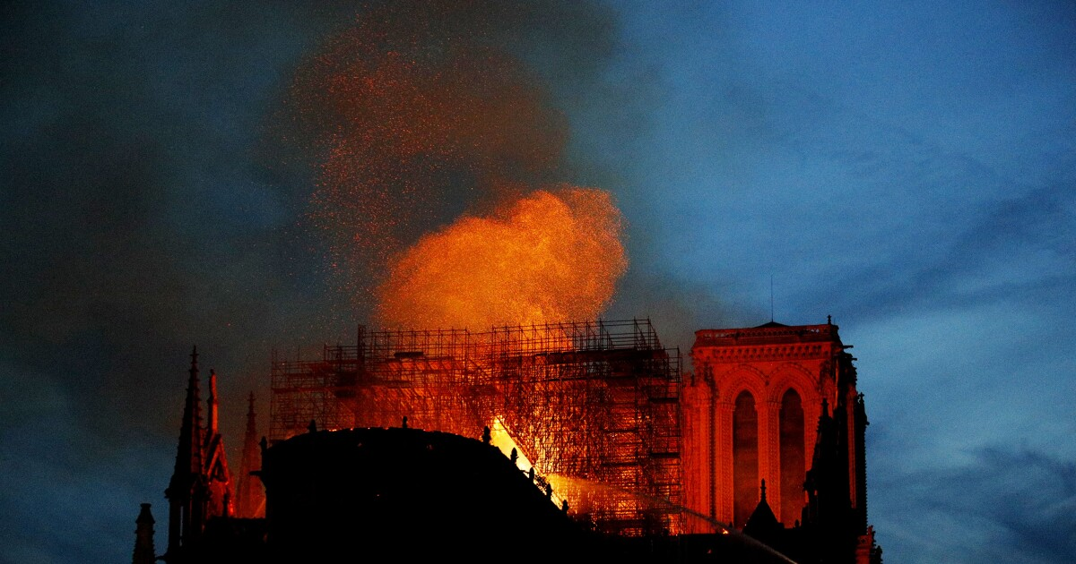 The heartbreaking fire at Notre Dame
