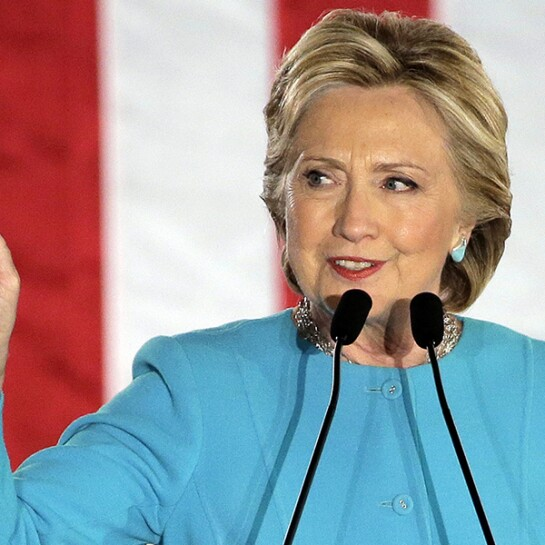 Candidate Hillary Clinton