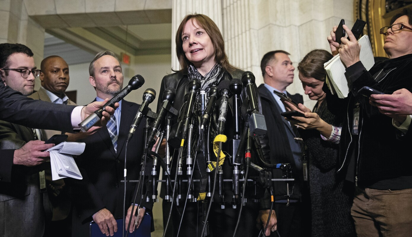GM CEO Mary Barra Meets With Lawmakers On Capitol Hill