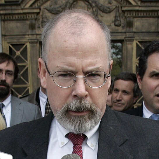 U.S. Attorney John Durham is seen.