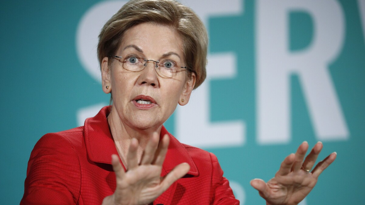Warren touts presidential transition crackdown after Trump ethics scandals