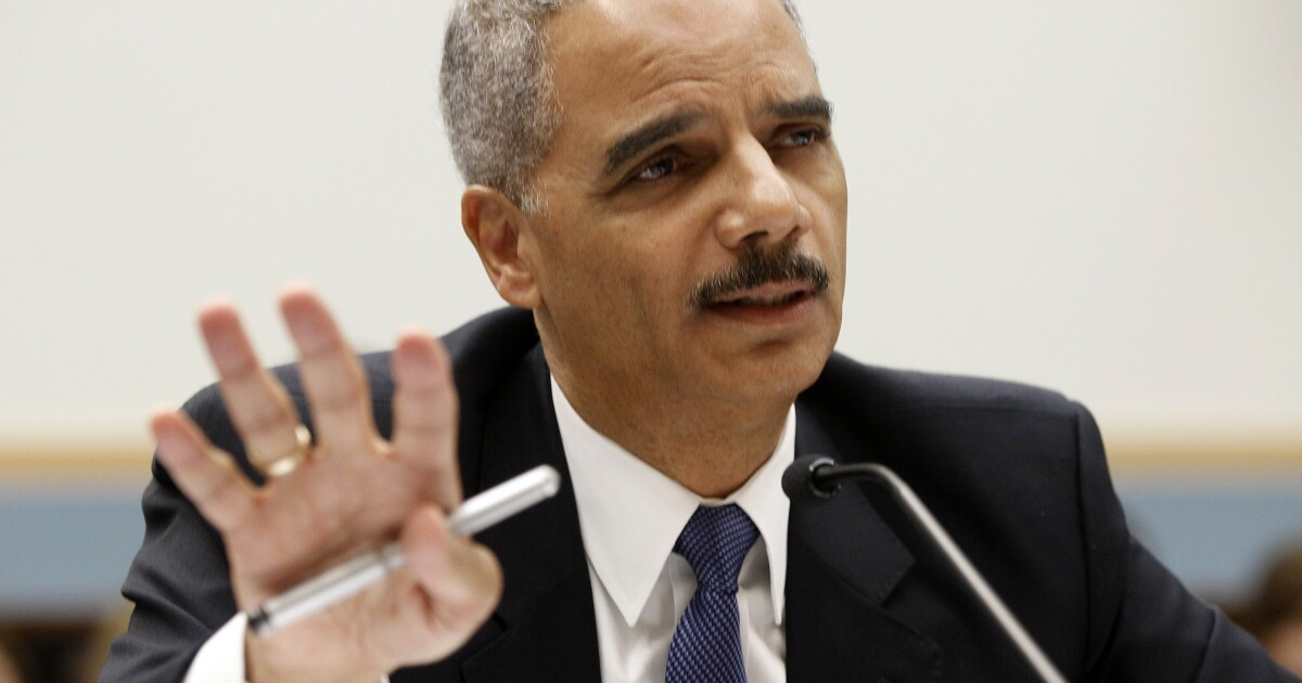 Eric Holder: Coronavirus is 'an opportunity' to permanently change ...