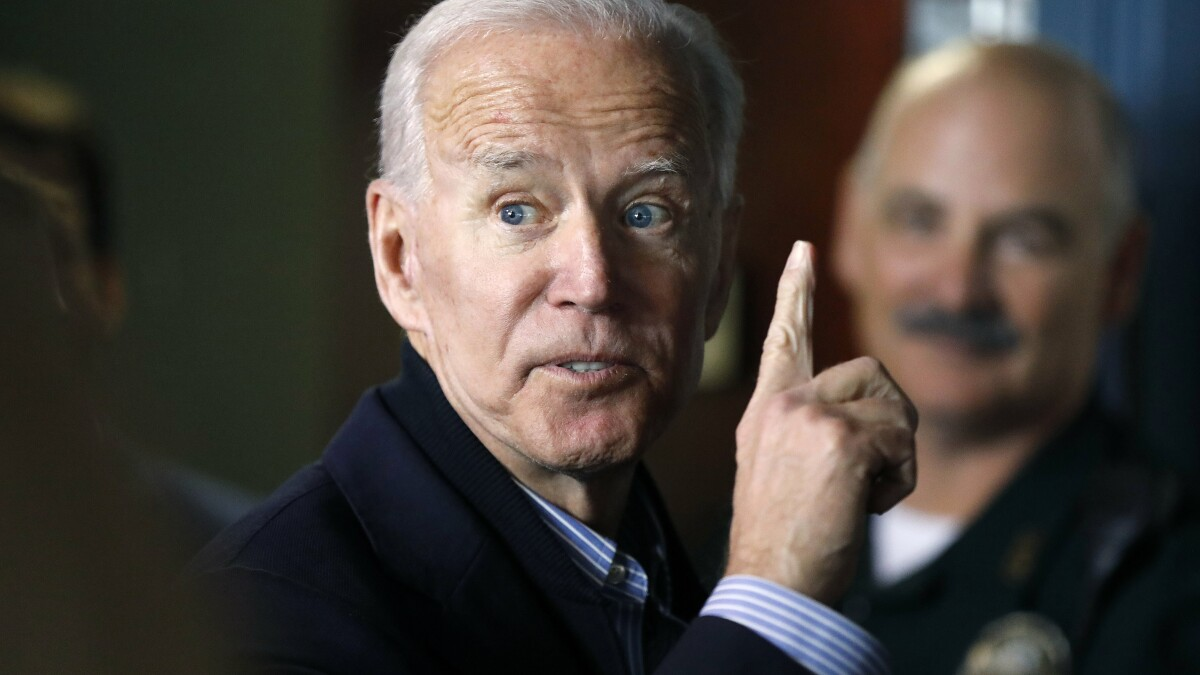 'Not in Seattle!': Wealthy donors shout down Biden after 'gay waiter' comment