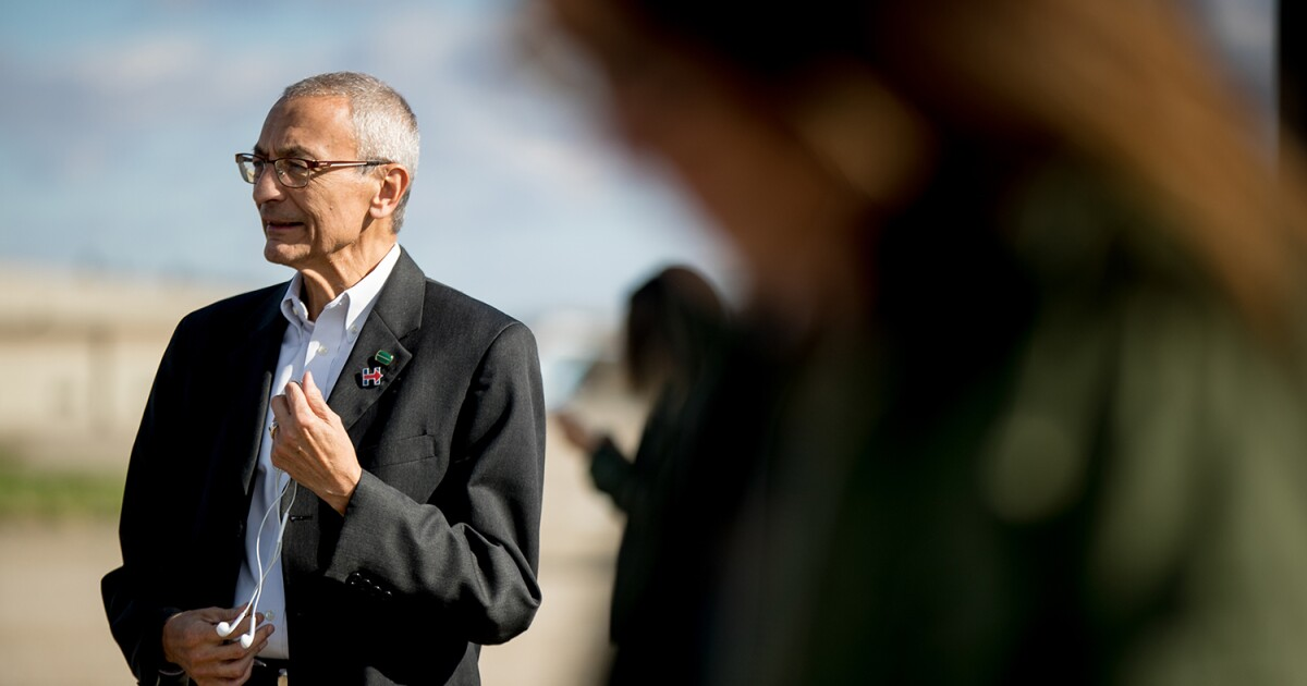 John Podesta says he's more careful about speaking out since