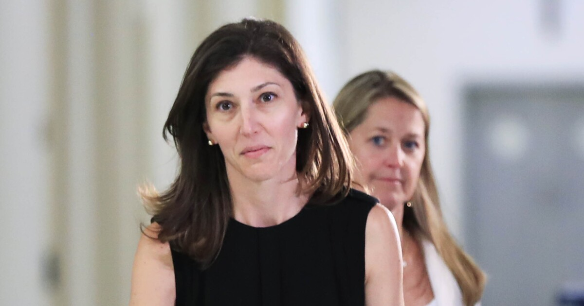 Transcripts of Lisa Page's private testimony released
