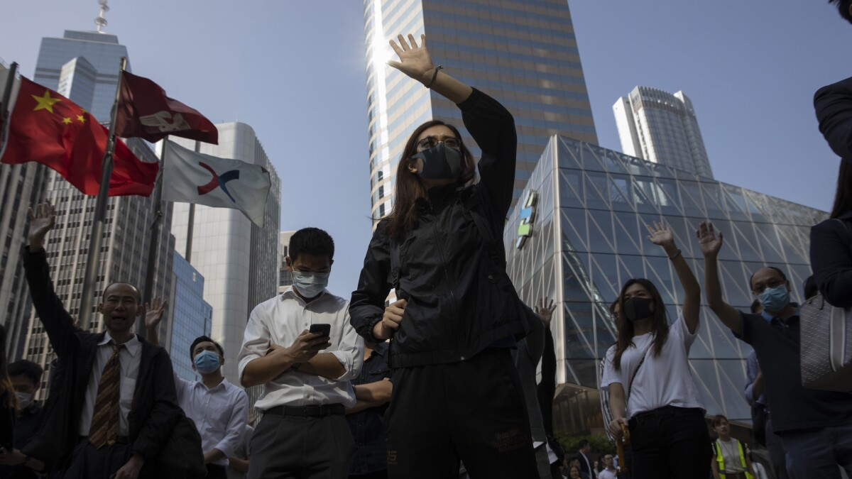Protester violence in Hong Kong needs to be renounced by the peaceful masses