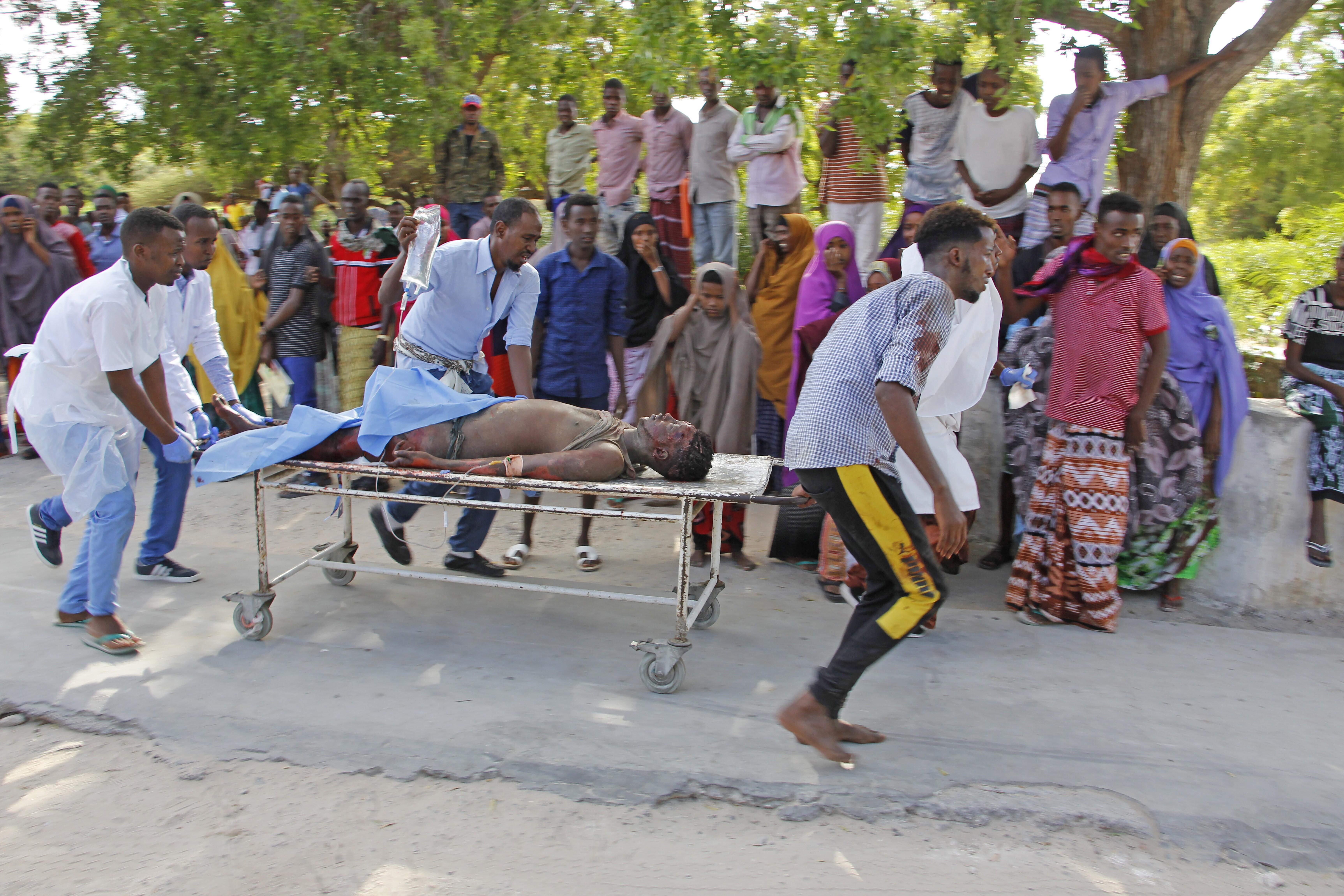 Victims of the Somali blast
