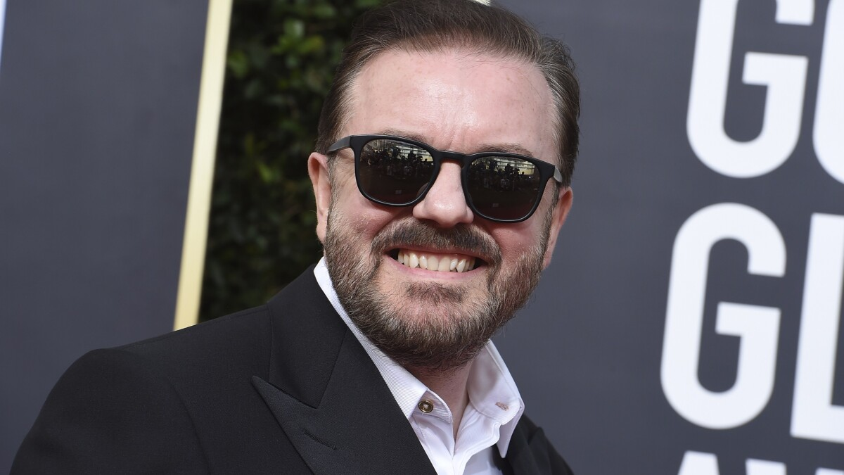 Hollywood proved Ricky Gervais's point