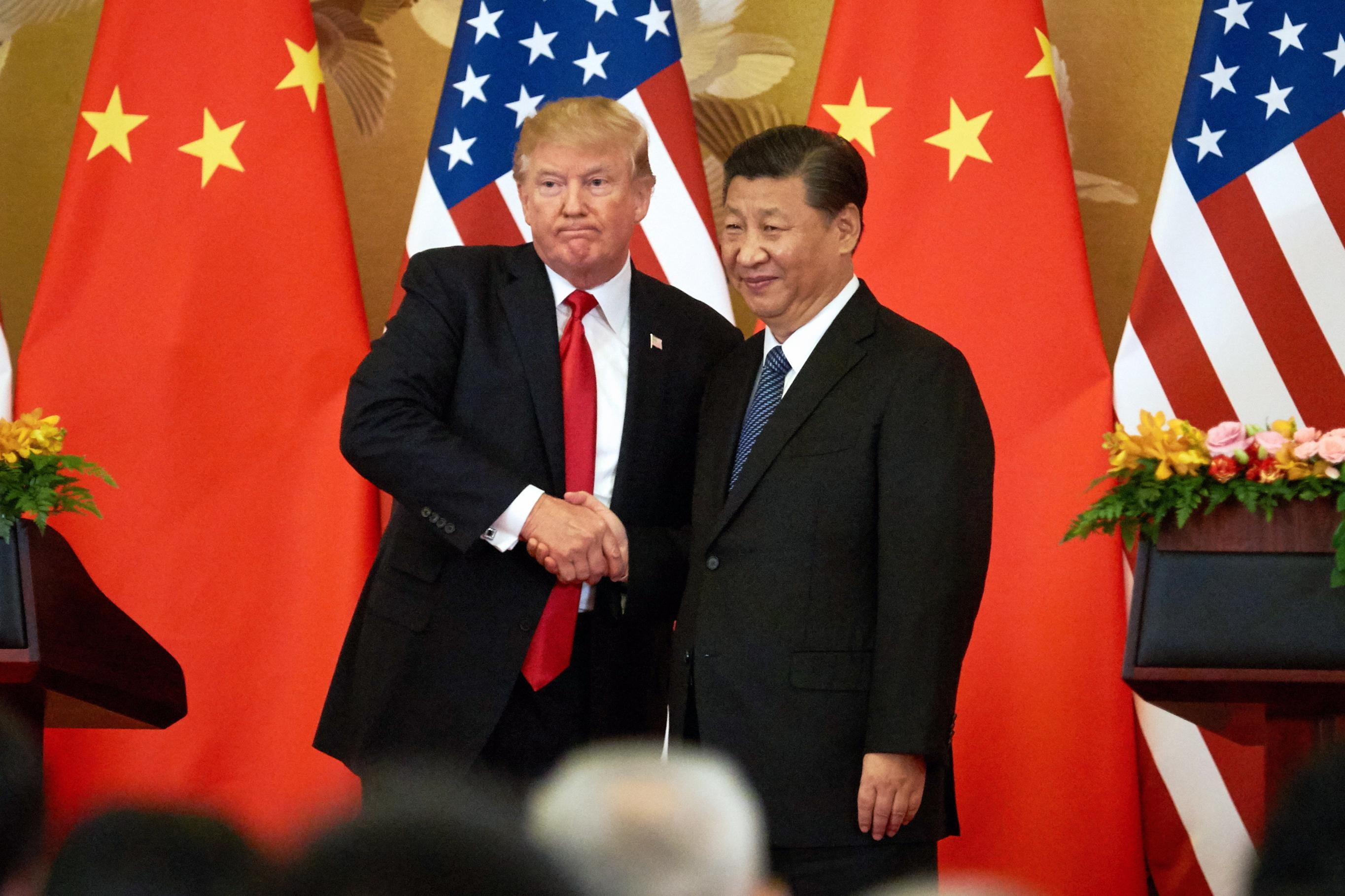 Image result for images trump xi