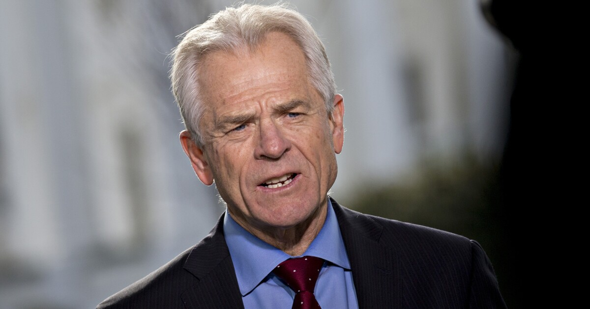 Peter Navarro calls on Congress to 'bring home' manufacturing to Puerto Rico