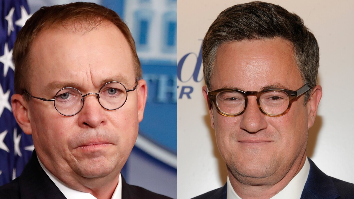 Scarborough: Mulvaney 'pooped his pants' in 'front of the American people'