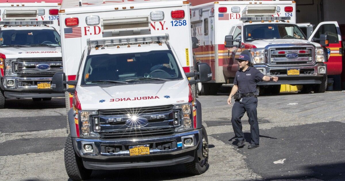 Ambulance services getting crushed by getting roped into virus response