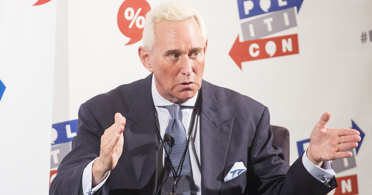 Roger Stone: Kevin McCarthy and Elise Stefanik 'wanted me to die' in prison