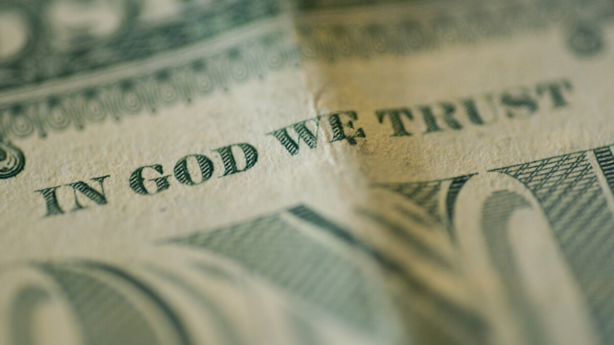 Nearly half of college students want 'In God We Trust' off currency