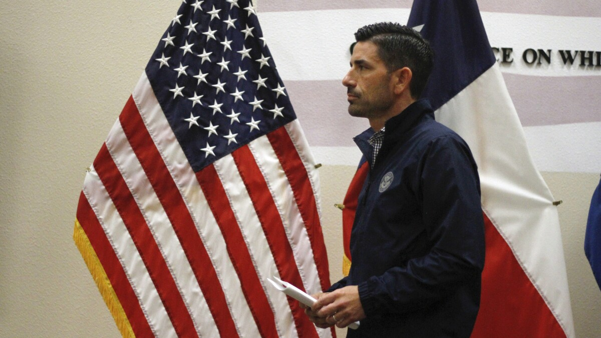 New Homeland Security leader Chad Wolf says he will target smuggling organizations' cash flow