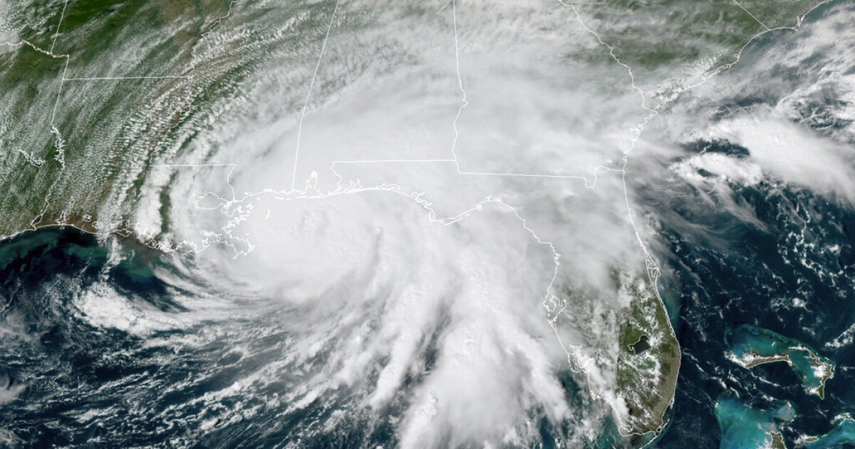 Hurricane Sally blasts ashore in Alabama with punishing...
