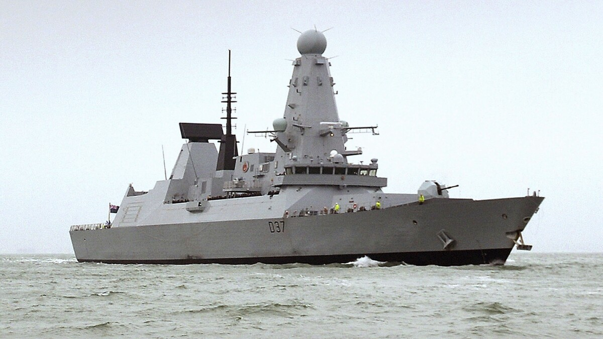 Britain is expecting to fight Iran in the Persian Gulf