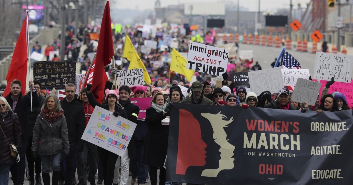 The Women's March can't comprehend that not all women have the same beliefs