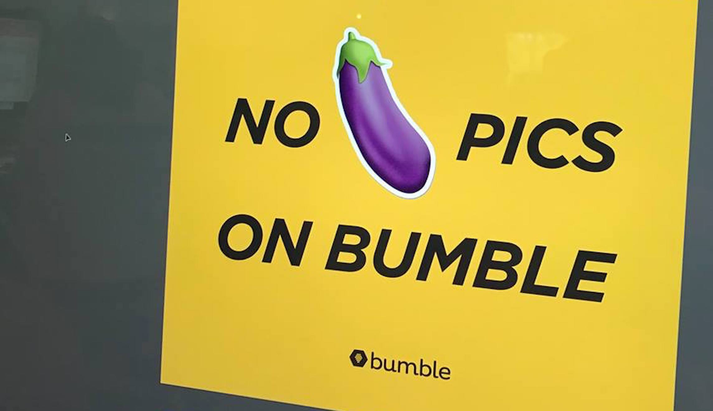When dating apps like Bumble ban gun pictures, they're