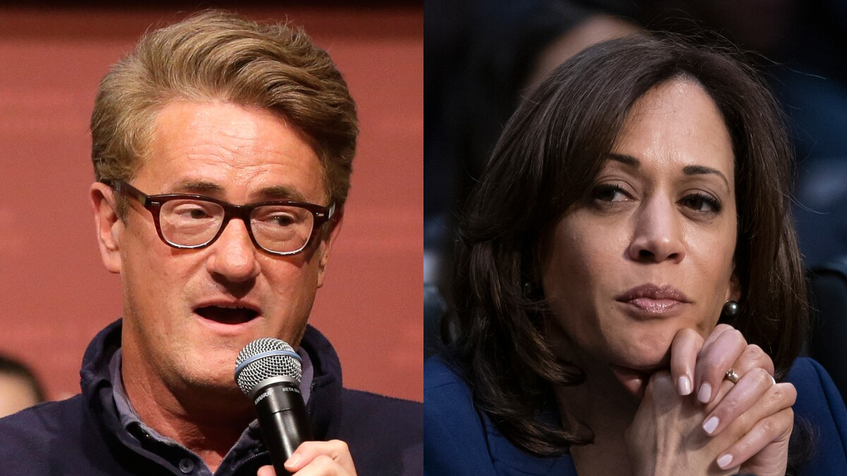 Scarborough goes after Kamala Harris for believing Kavanaugh victim