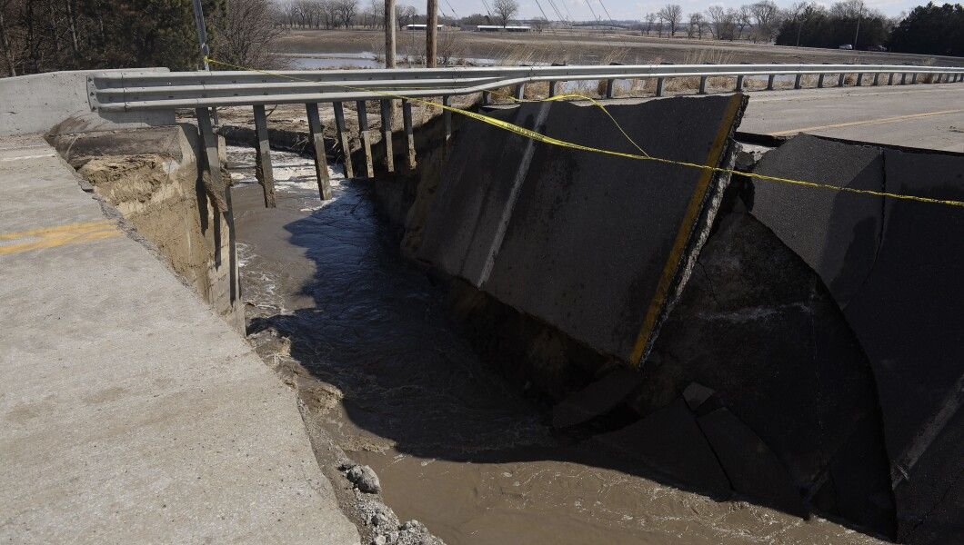 Devastating flooding in Midwest after bomb cyclone: 'This