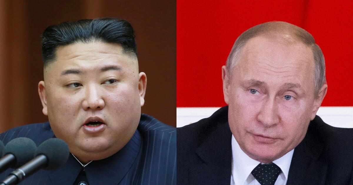 Vladimir Putin and Kim Jong Un set for meeting in Russia