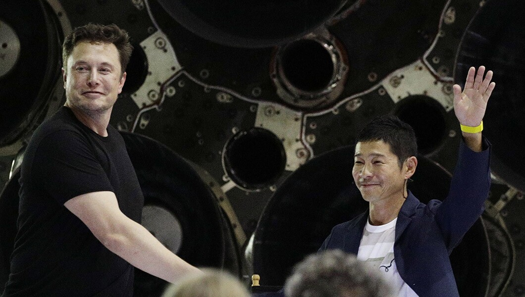 Japanese billionaire Yusaku Maezawa will fly on first-ever ...