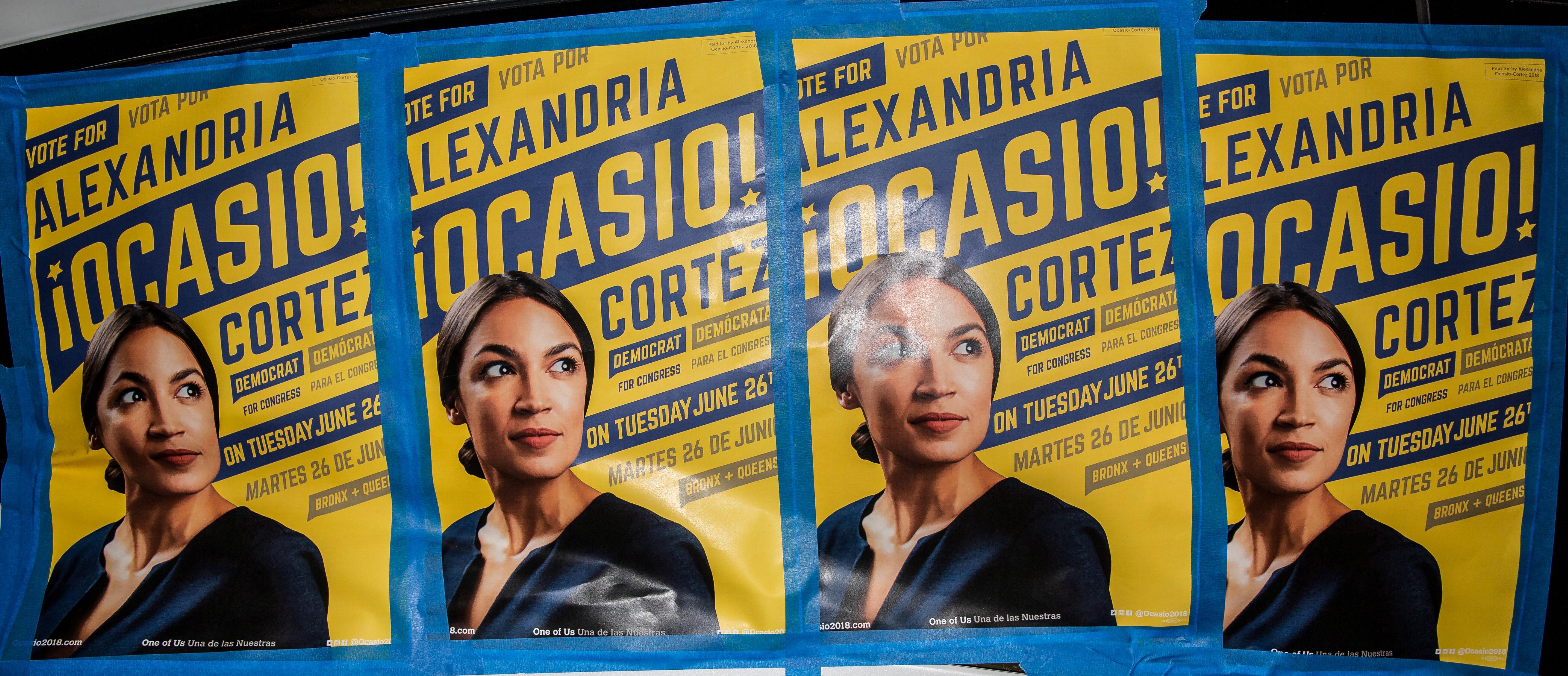 uk availability a7fcf 92328 Alexandria Ocasio-Cortez Posters in New York