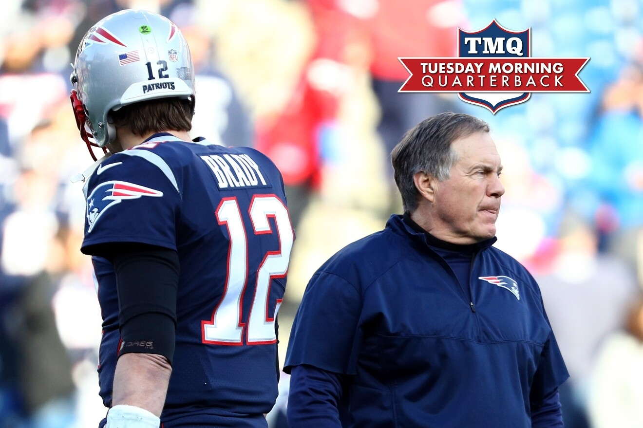 Tuesday Morning Quarterback  Would You Rather Have Belichick or Brady  53441a3a1