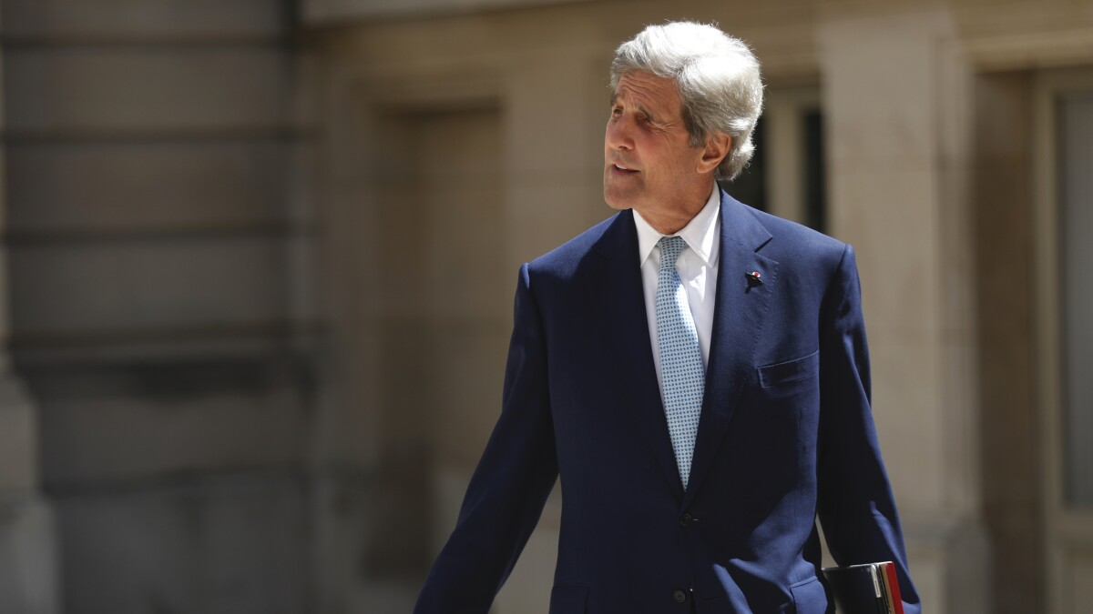 John Kerry on climate change: 'We've got to treat this like a war'