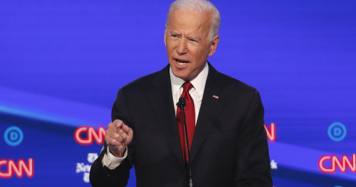 Biden: 'These debates are crazy'