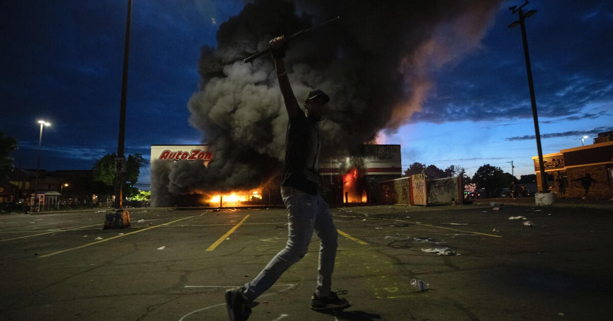 Protests over George Floyd death turn deadly as looting and fires grip Minneapolis