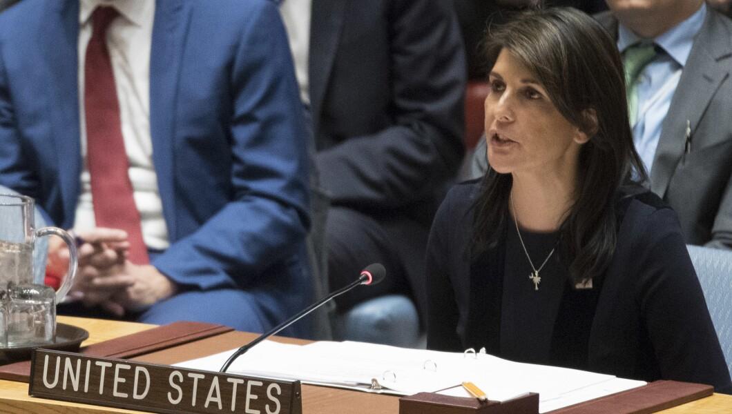 Nikki Haley at the UN Security Council
