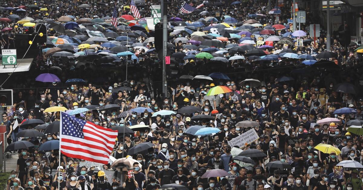 Trump must challenge China over Hong Kong - Washington Examiner