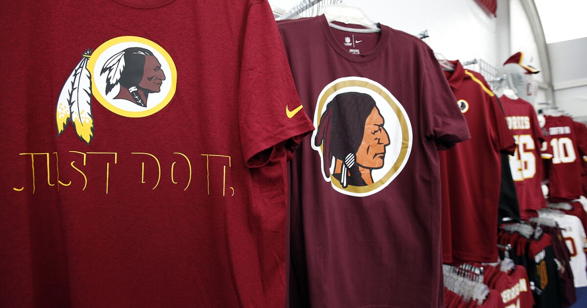 Redskins Become Washington Football Team Because Every Mascot Is Offensive Now