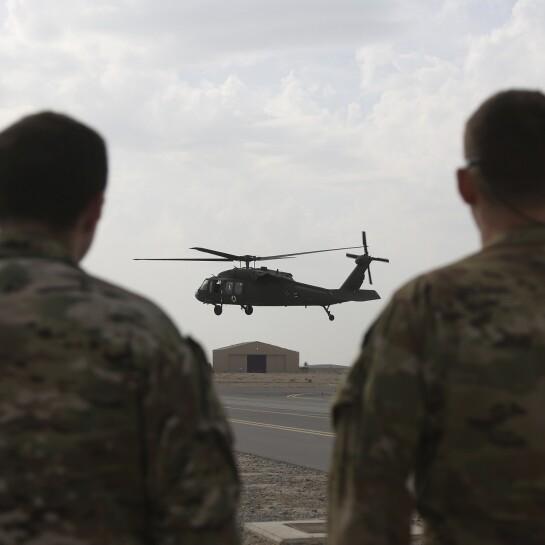 Afghanistan Black Hawks
