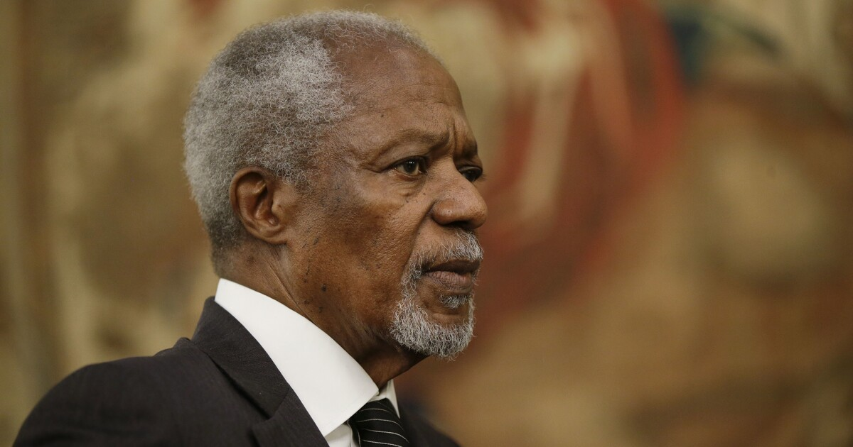 kofi annan represented all that is wrong about the united nations