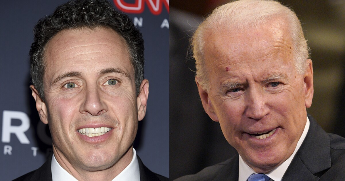 Chris Cuomo: Biden could beat me in a pushup contest