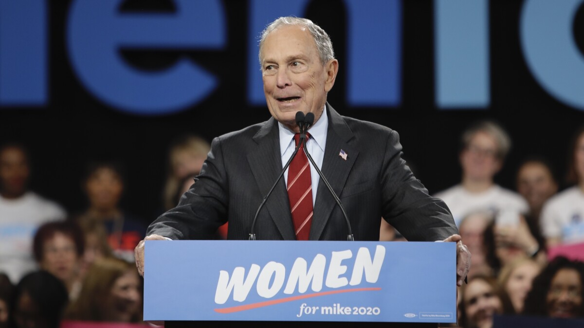 Bloomberg rips Trump over 'very small' million-dollar loan from father