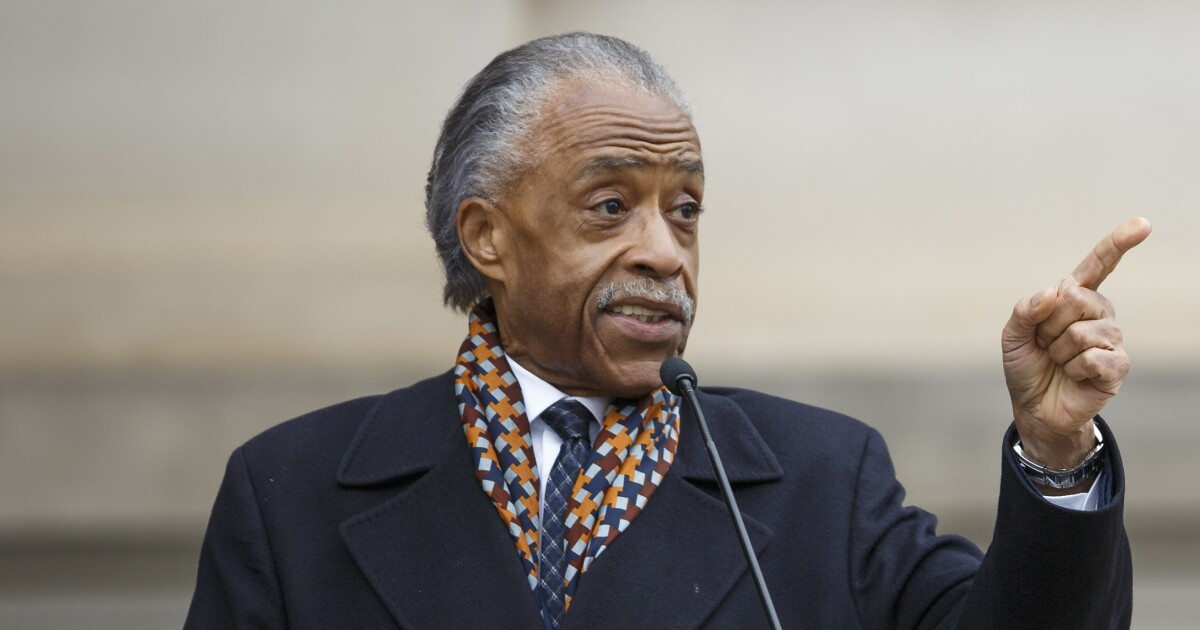 Why is Al Sharpton, inciter of Crown Heights, speaking at a Jewish conference in Washington?