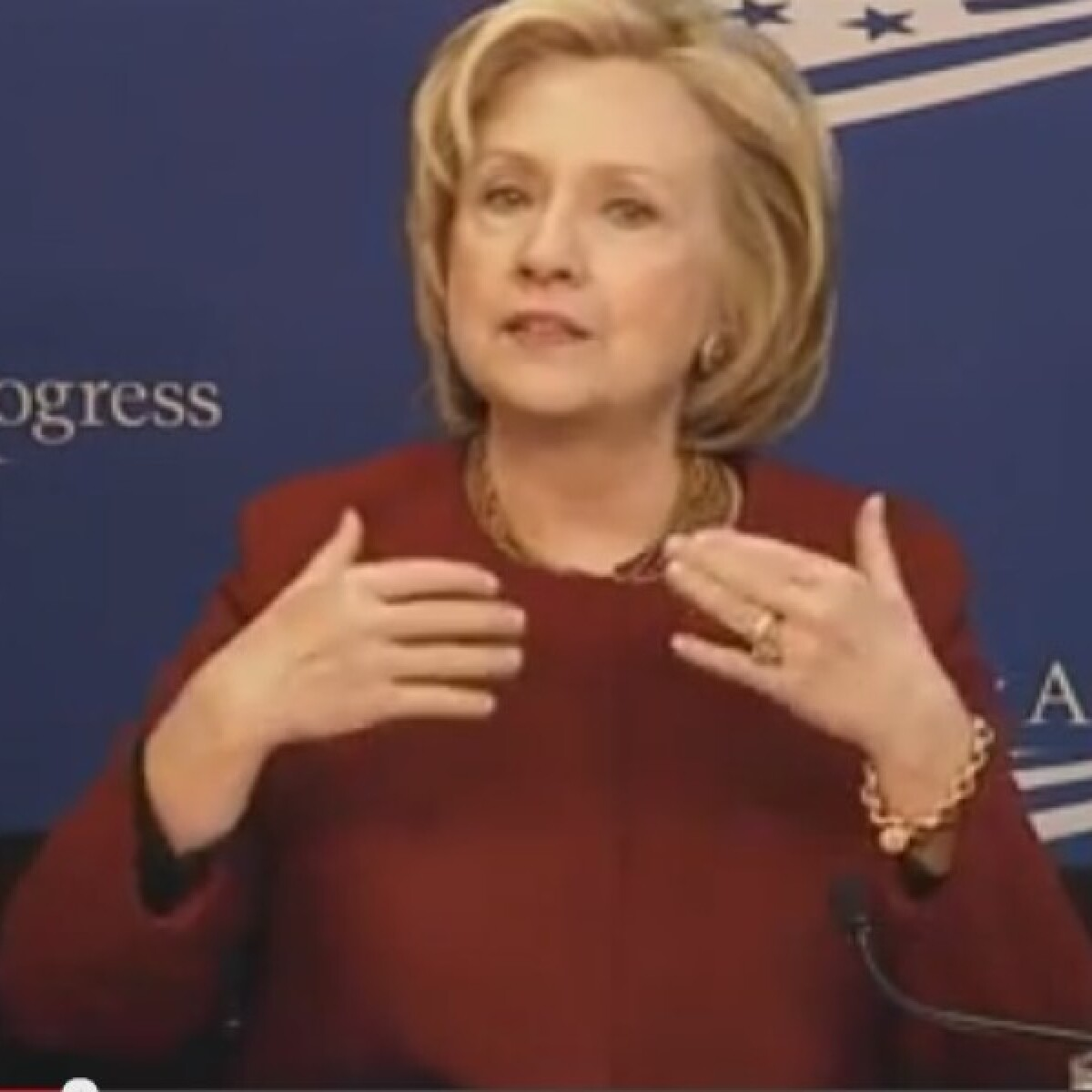 Hillary Clinton Didn't Put Her Foot In Her Mouth In India