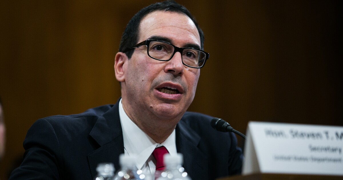 Mnuchin wants $455B in unused COVID-19 emergency funds...