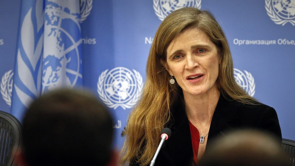 'I hated my voting instructions': Samantha Power defied Obama to block Russia from United Nations body