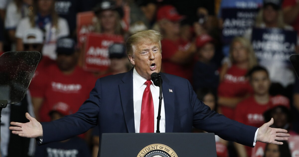 Trump heads to New Hampshire as Democratic Rust Belt 'blue wall' strengthens